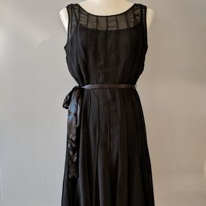 Calvin Klein Black Sheer Dress size 6